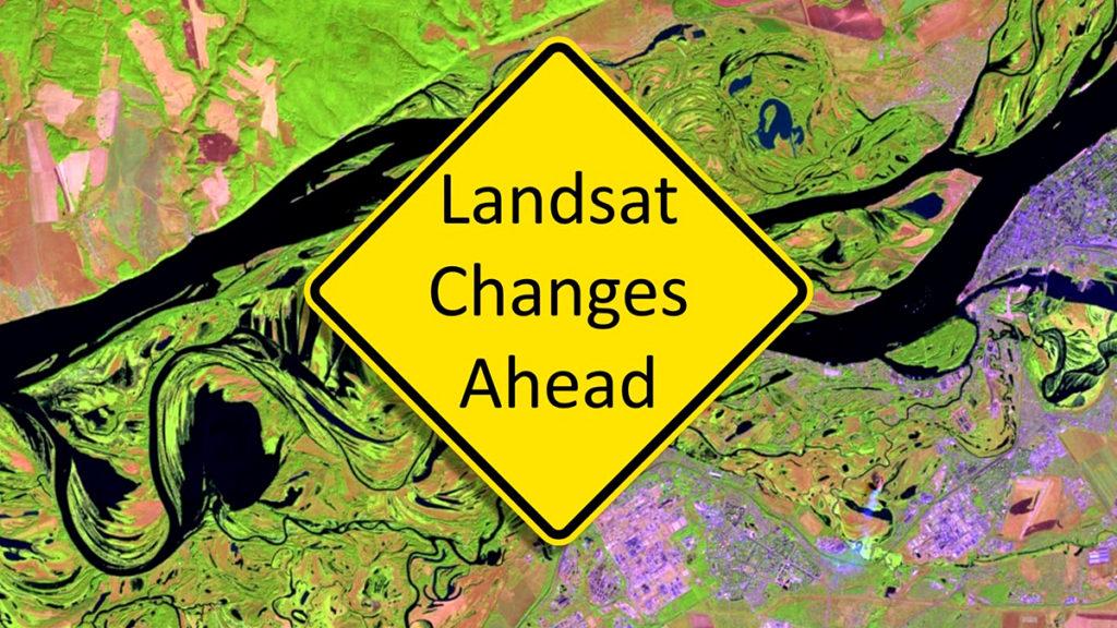 вихід Landsat Collection 2